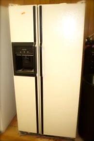 Almond Fridge on Kenmore Refrigerator Model