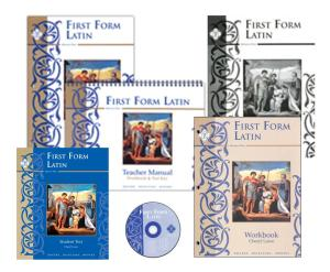First Form Latin Set from Memoria Press